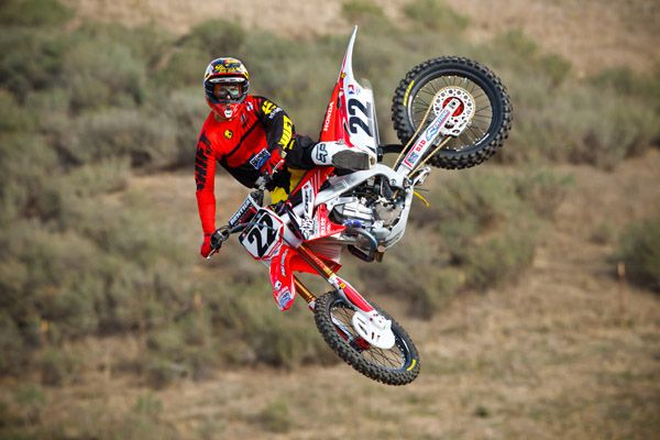 The always flawless, Chad Reed.