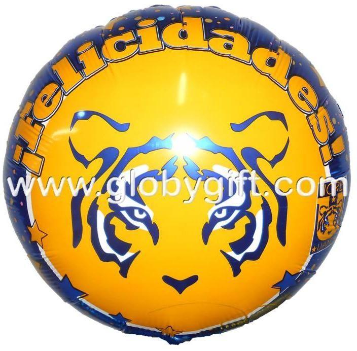 Nuevo modelo de globo de Tigres de la UANL (modelo 2014). Para regalar a un Tigre de corazón.