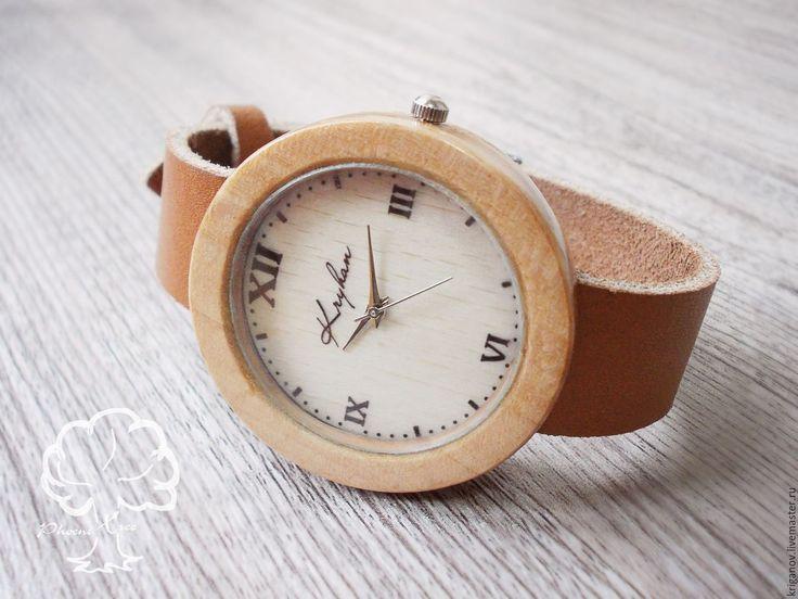 """Купить Женские часы PT """"Glory"""" наручные деревянные ручной работы - коричневый, деревянные часы"""