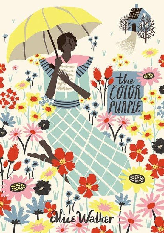 The Color Purple Book Cover Marijke Buurlage Book Design