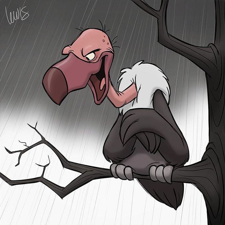 I just realized I have no idea what vultures actually look like. I've seen a lot of cartoon vultures, though, so this is probably exactly it. #vulture