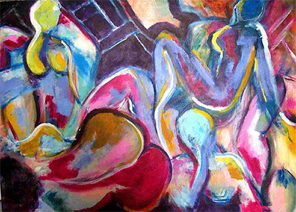 acrylic on canvas 30 x 40