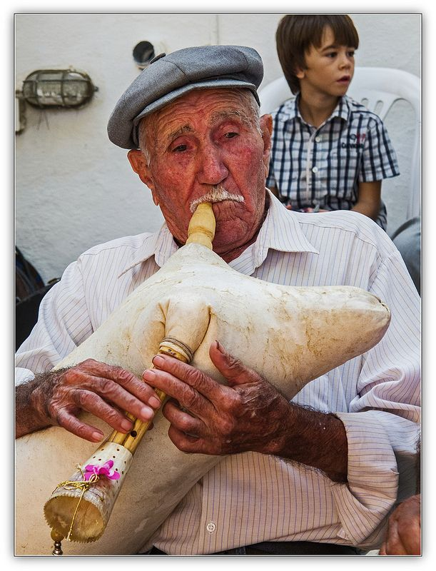 Greek Folk Musicians, Paros, Greece