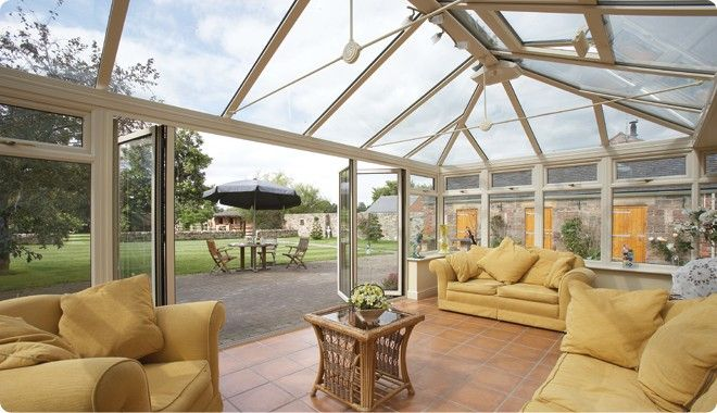 #9 Edwardian Conservatories! Those clean lines offer a visually strong dimension to homes and have been desired for decades. http://www.eurocell.co.uk/homeowners/37/edwardian-conservatories-1 #Eurocell
