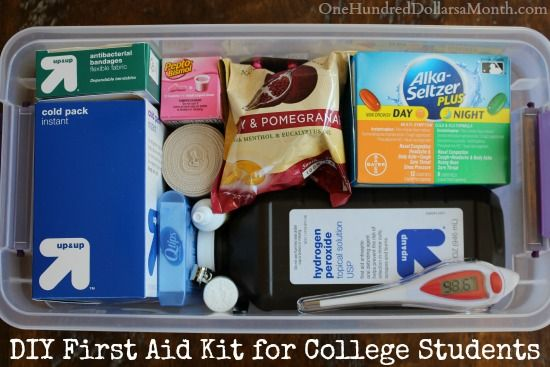 DIY First Aid Kit for College Students