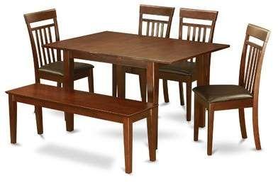 Red Barrel Studio Cartley 6 Piece Extendable Dining Set Dining