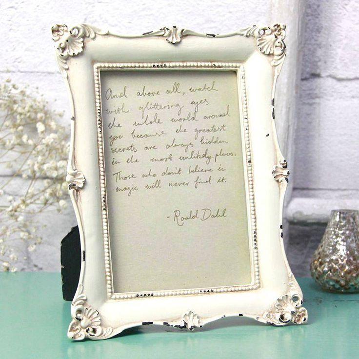 94 best Shabby chic frames images on Pinterest   Shabby chic frames ...