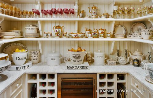 Gorgeous Kitchens By JoanneHudson - Style Estate -Butler Pantries, Dreams Pantries, Pantries Design, Butler Pantry, Pantries Organic, Emma Bridgewater, Kitchens Pantries, Hudson Kitchens, Joanne Hudson