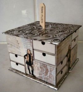 Match Box Organizer Tutorial