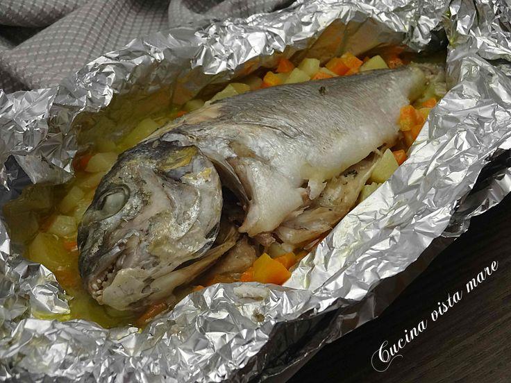 Orata+al+cartoccio+con+verdure