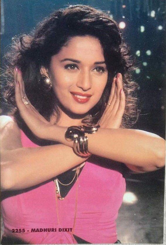 Madhuri Madhuri Dixit 90s Bollywood Actress Bollywood Actress