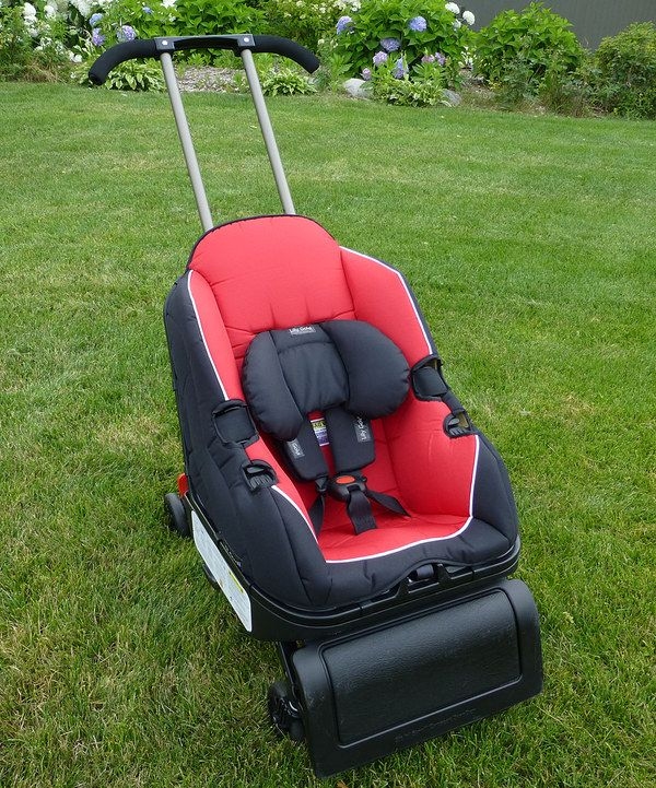 Lilly Gold Red & Black FiveInOne Sit 'n' Stroll Car Seat