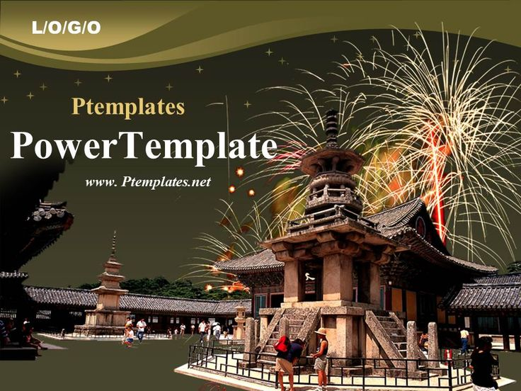 19 best powerpoint templates images on pinterest free stencils korean culture powerpoint template free download toneelgroepblik Image collections