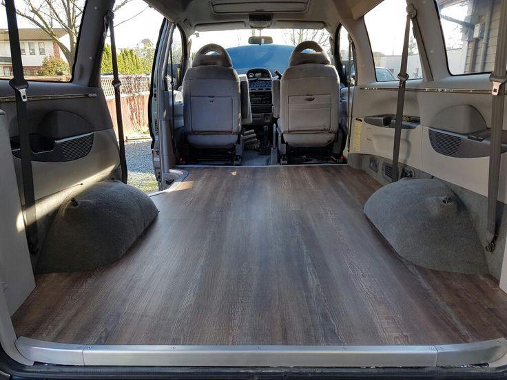 Vinyl Floor And Trim Complete In 95 Delica L400 Camper