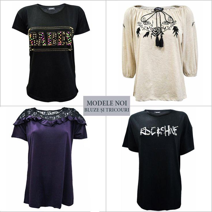 Mulțumește-ți toți clienții completându-ți stocul cu cea mai variată gamă de bluze și tricouri noi de la Adrom Collection. Comandă acum: http://www.adromcollection.ro/9-bluze