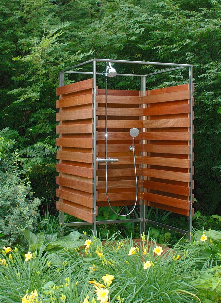 Beautiful Stand Alone Outdoor Shower Part - 6: Nice Stand Alone Shower