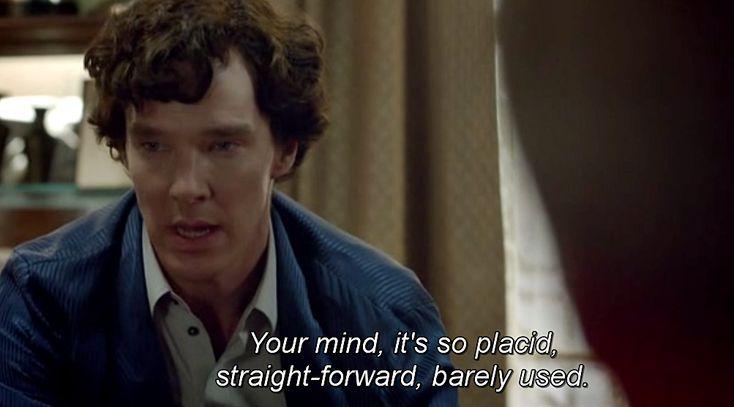 Δε βαριέσαι. #mood #sherlock #BenedictCumberbatch #tvseries #tvseriesaddict #tvseriesproject #quotes