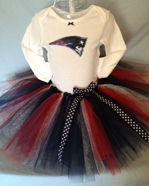 FREE SHIPPING NFL New England Patriots Tutu by hollieshobbies1
