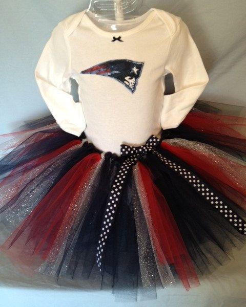 FREE SHIPPING NFL New England Patriots Tutu by hollieshobbies1