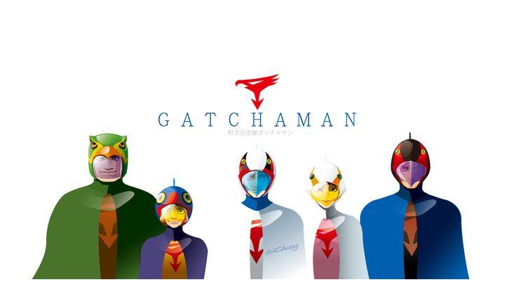 G-Force#Battle of the Planets #龍之子# 龍之子#gatchaman wallpaper#Tatsunoko Production Co. Ltd.# 竜の子プロ#タツノコプロ#マッハGoGoGo#ハクション大魔王#科学忍者隊ガッチャマン 新造人間キャシャーン#破裏拳ポリマー#宇宙の騎士テッカマン#ヤッターマン#Yatterman#ゴワッパー5 ゴーダム CARTOON#COMIC#MANGA#DRAWING#ILLUSTRATION#GALACTOR#Galactor (ギャラクター, Gyarakutā)#by wolf chung#肥仔聰