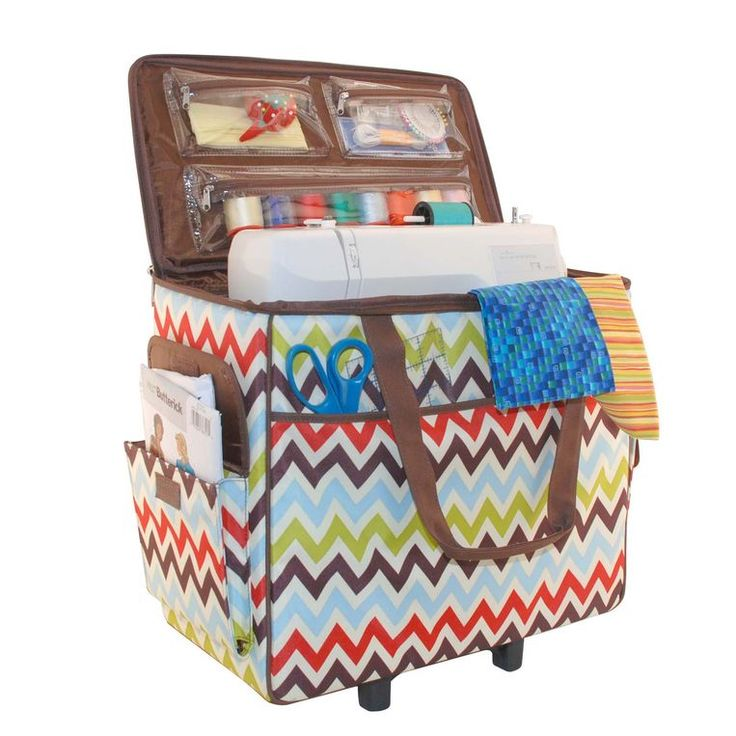 rolling sewing machine carrying