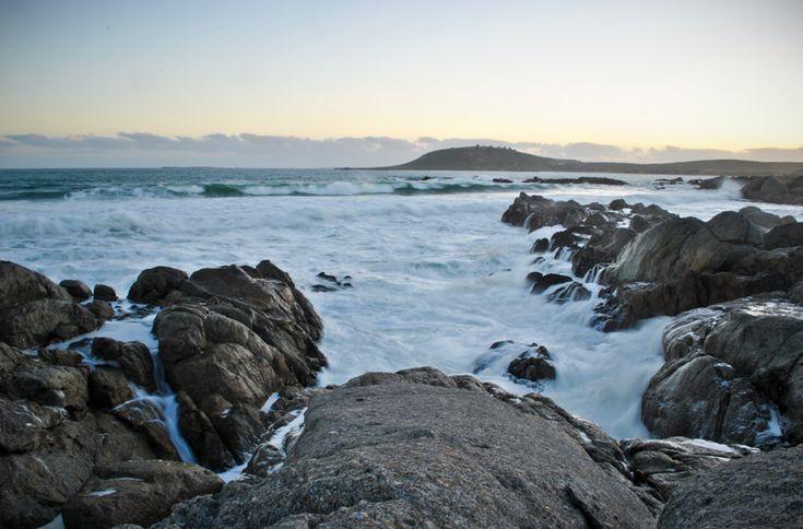 West Coast of South Africa - Saldanha Bay.