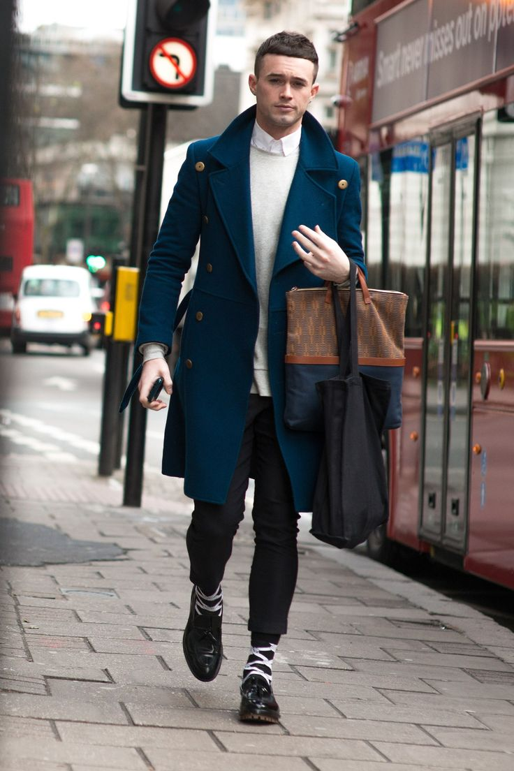 London Collection Mens Fashion Menswear Outfit For Fall