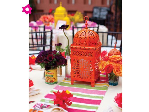 Centros de mesa para boda mexicanos