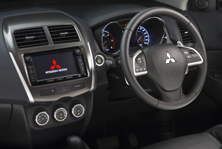 The interior of the #MitsubishiASX Aspire auto Diesel. #LoveThatCar http://www.mitsubishi-motors.com.au/vehicles/asx?cid=pinterestASX