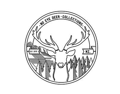NO EYE DEER logo NZ Housewares Brand Logo
