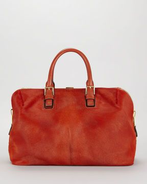 shopstyle.com: Tom Ford Petra Zip Frame Calf Hair & Brushed Calf Leather Tote Bag-in-Bag