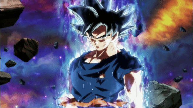 Dragon Ball Super GOKU Ultra Instinct super saiyan anime Dragon Ball