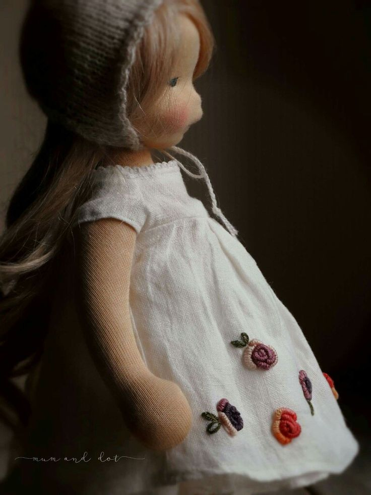 Lovely embroidery details on Mum and Dot dress