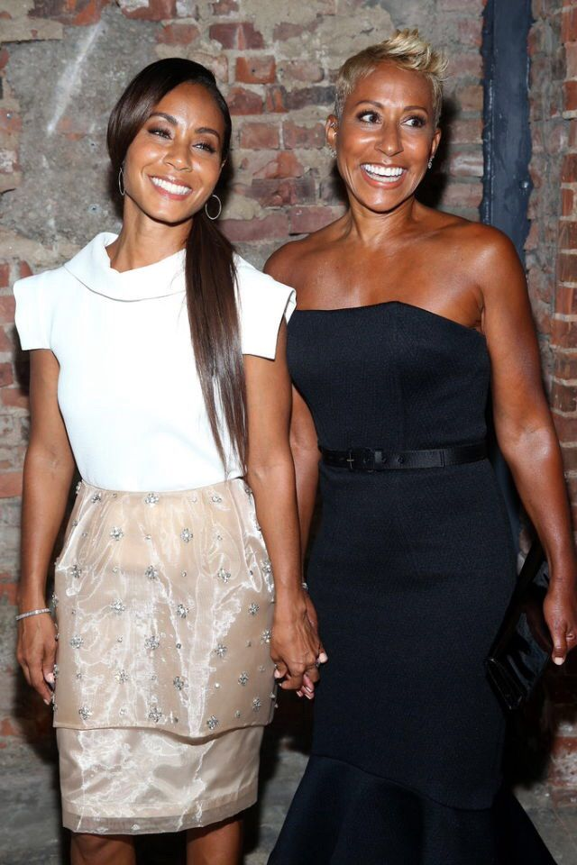 Jada Pinkett-Smith and her lovely mother