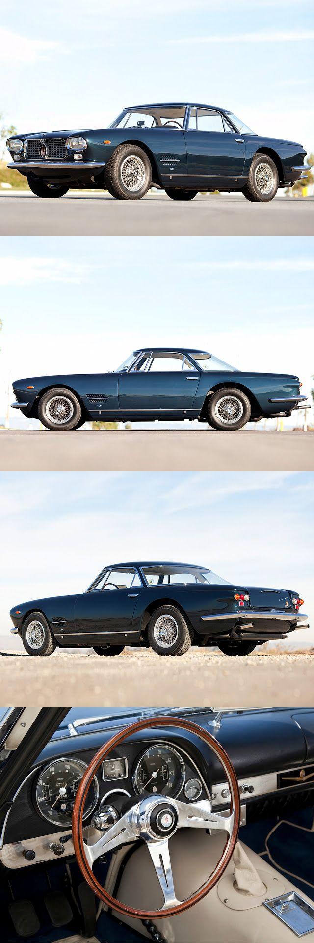 Visit The MACHINE Shop Café... (Best of Maserati @ MACHINE) Rare Maserati 5000 GT Coupé