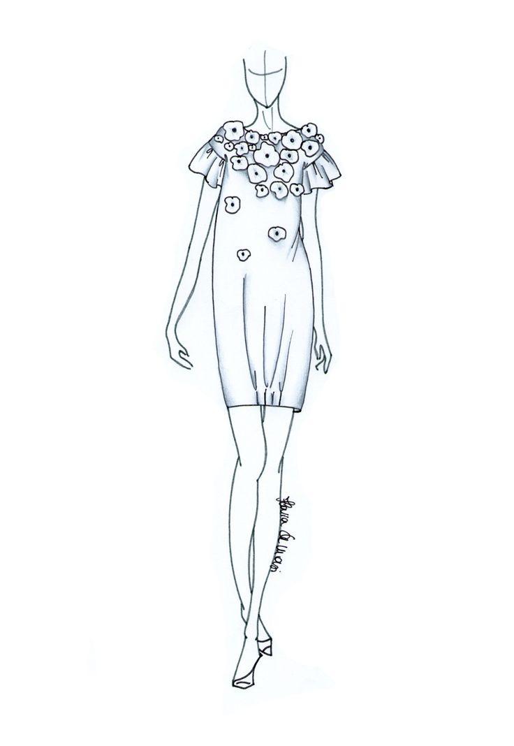 Little White Dress Flower Bomb