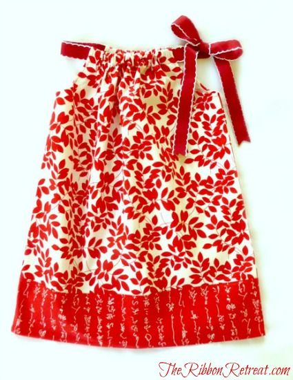 LOVE pillowcase dresses!  So cute and simple.