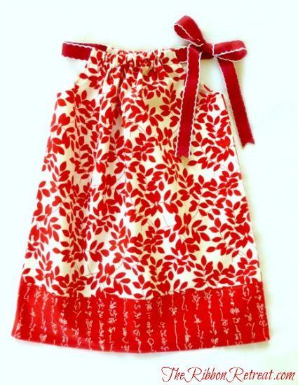 Tutorial for pillowcase dress :)  sew easy!