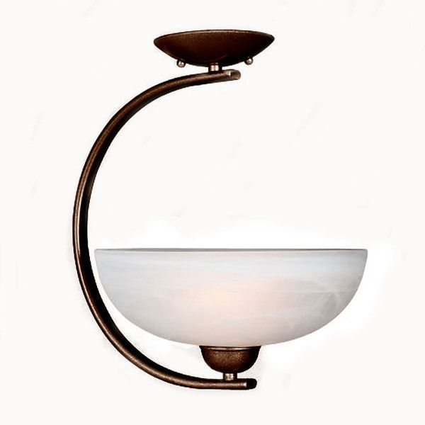 Access Lighting 26005 RU Aspire Contemporary Semi Flush Mount Ceiling Fixture in Rust Finish & 110 best Ceiling Lights images on Pinterest | Ceilings Discount ... azcodes.com