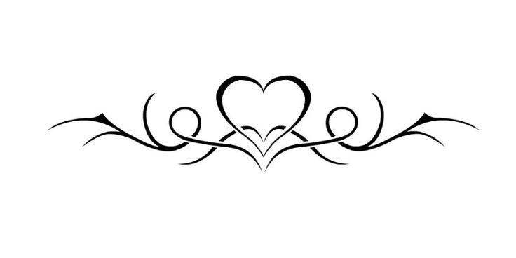 Tribal Heart Tattoos | Nep Tattoo Voorbeeld Tribal Hart