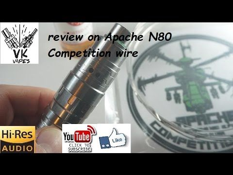 VK VAPES review on Apache Competition Wire (English)