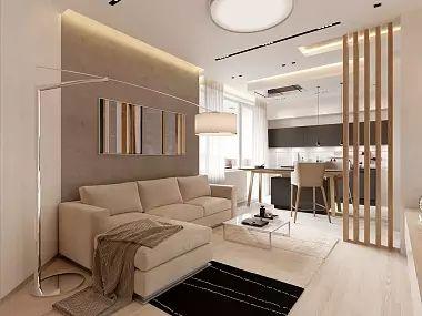 Интерьер четырехкомнатной квартиры в современном стиле, ЖК «Московский квартал», 130 кв.м.