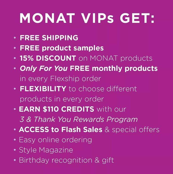 Pie VIP program is the bomb.com! kaylahayslett.monat.com