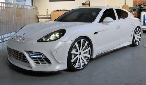 Now THIS is a station wagon I would be more than happy to drive around in! Porsche Panamera Mansory
