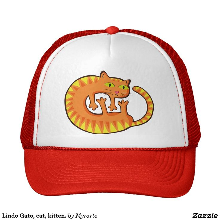 Lindo Gato, cat, kitten. Producto disponible en tienda Zazzle. Accesorios, moda. Product available in Zazzle store. Fashion Accessories. Regalos, Gifts. Link to product: http://www.zazzle.com/lindo_gato_cat_kitten_trucker_hat-148223432349690033?CMPN=shareicon&lang=en&social=true&rf=238167879144476949 #gorra #hat #cat #gato #kitten