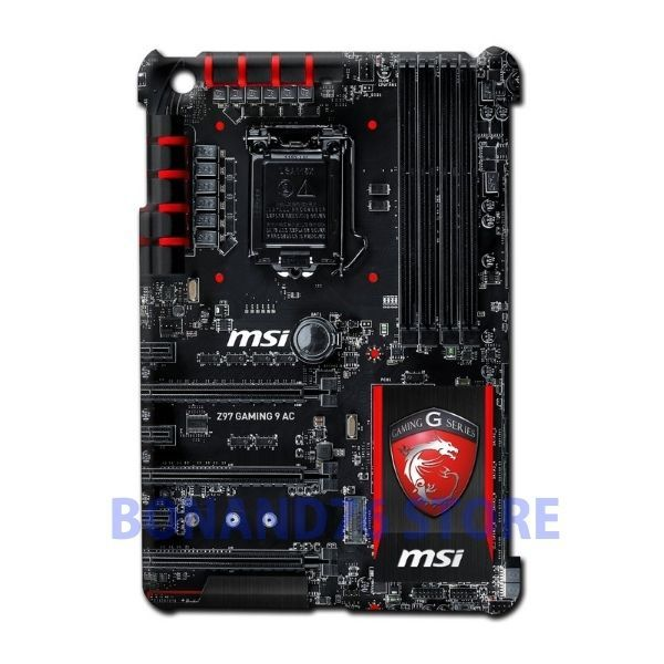 Ipad 2 / Ipad Mini 2 Back Case Z97 Gaming 9 AC Customize Design Board Circuit #Generic