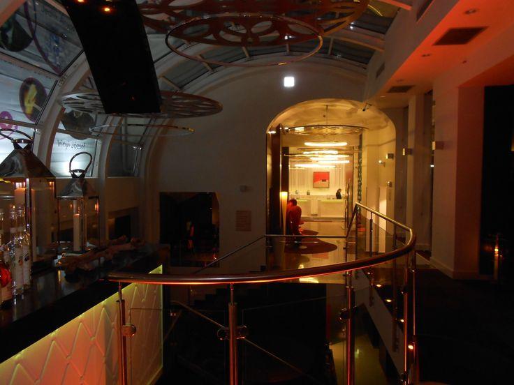 Nuovi interni dell'Hotel Parlament di Budapest