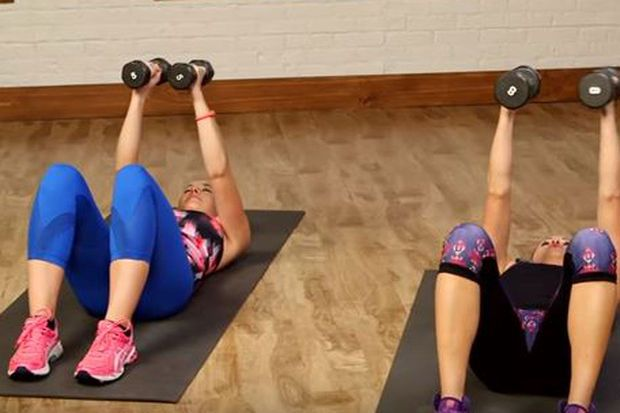 Video: 10-minuten durende workout voor luie dagen