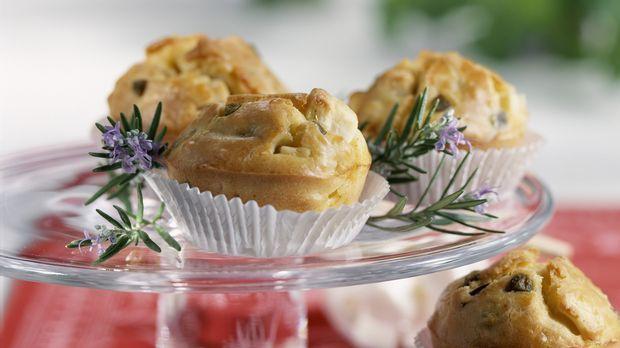 Muffins mit Oliven und Feta: Rezept     - Sweet & Easy - Enie backt - sixx