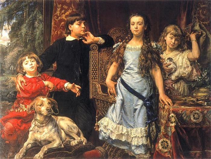 CHILDREN, BY JAN MATEJKO